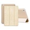 Hoco - Cube series nyomott mintázatú iPad mini 4 tablet tok - arany