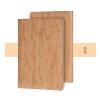 Hoco - In series antikolt bőr iPad Pro tablet tok - világos barna