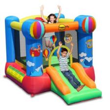 Hőlégballon ugrálóvár - 280x210x185cm kerti játék