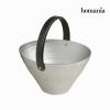 Homania Asztaldísz Ón Fekete Ezüst színű (27 x 27 x 21 cm) - New York Gyűjtemény by Homania