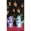 Home by Somogyi CDM 2/T LED-es mécses dekoráció szett, 2 db, víztiszta akril