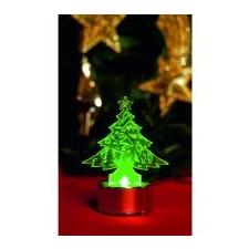 Home by Somogyi Home LED-es mécses dekoráció, fenyőfa (CDM 1/P) karácsonyfa izzósor