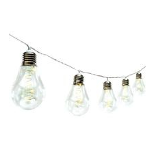 Home by Somogyi Home LED-es villanykörte fényfüzér (ML 15 GLOBE) karácsonyi dekoráció