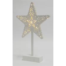 Home LED-es asztali dísz, csillag, 4,5V karácsonyi dekoráció