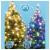 Home LED-es Dual Color fényfüzér (LED 105/WW/M)