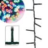 Hoppline 120 LED-es karácsonyi fényfüzér, 8 mozgó beállítással, színes
