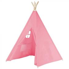 Hoppline Indián sátor gyerekeknek, rózsaszín kerti játszóház
