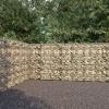 Horganyzott acél gabion fal borítással 600 x 30 x 200 cm