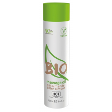 HOT BIO - vegán masszázsolaj - mandula (100ml) masszázskrémek, masszázsolajok
