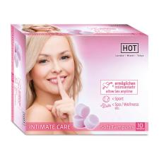 Hot HOT INTIMATE CARE Soft Tampons 10 Stk. intim higiénia