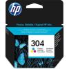 HP 304 /N9K05AE/ színes, eredeti festékpatron HP DeskJet 2620, 2630, 2632