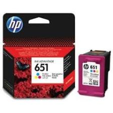 HP 651 színes eredeti tintapatron C2P11AE nyomtatópatron & toner