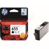 HP 655 black CZ109AE festékpatron  - eredeti Deskjet Ink Advantage 3520, 3525, 4610, 4615, 4620, 4625,
