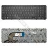 HP 749658-211 gyári új, fekete magyar laptop billentyűzet