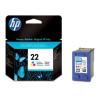 HP C9352AE Tintapatron DeskJet 3920, 3940, D2300 nyomtatókhoz, HP 22 színes, 5ml