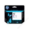 HP C9383A Tintapatron fej DesignJet T1100, T640 nyomtatókhoz, HP 72 vörös, kék (TJHC9383A)