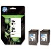 HP C9502AE Tintapatron DeskJet 450c, 5150, 5500 nyomtatókhoz, HP 56 fekete, 2*19ml