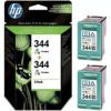 HP C9505AE Tintapatron DeskJet 5740, 6540 nyomtatókhoz, HP 344 színes, 2*14ml