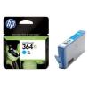 HP CB323EE Tintapatron Photosmart C5380, C6380, D5460 nyomtatókhoz, HP 364xl kék, 750 oldal