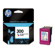 HP CC643EE Tintapatron DeskJet D2560, F4224, F4280 nyomtatókhoz, HP 300 színes, 165 oldal nyomtatópatron & toner