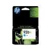 HP CD972AE Tintapatron OfficeJet 6000, 6500 nyomtatókhoz, HP 920xl kék, 700 oldal