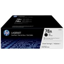 HP CE278AD Lézertoner LaserJet P1566, P1606 nyomtatókhoz, HP 78A, fekete, 2*2,1k nyomtatópatron & toner