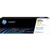 HP CF532A Lézertoner HP Color Laserjet MFP M181fw nyomtatókhoz, HP 205A sárga, 0,9k