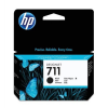 HP CZ129A Tintapatron, DesignJet T120, T520, nyomtatókhoz, HP 711, fekete, 38ml
