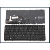 HP Elitebook 745 G1 trackpointtal (pointer) háttérvilágítással (backlit) fekete magyar (HU) laptop/notebook billentyűzet