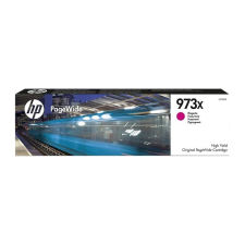 HP F6T82AE Tintapatron, PageWide Pro 452, 477, Managed P57750, P55250 nyomtatókhoz, HP 973X, magenta, 7k nyomtatópatron & toner