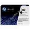 HP HEWLETT PACKARD HP CF280X (No.80X) BK fekete (BK-Black) nagy kapacitású eredeti (gyári, új) tintapatron