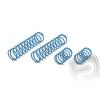HPI Lengéscsillapító rugó szett 23x155x2.4mm 16 menet (kék/2db)