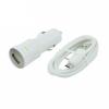 HTC CC C120 Car Charger - autós töltő + micro USB kábel - 5V, 1,0A, DC 10-30V