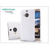 HTC HTC One M9 Plus hátlap képernyővédő fóliával - Nillkin Frosted Shield - fehér