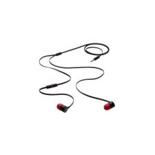 HTC MAX300 sztereó headset, felvevőgombos, fekete-piros, gyári csomagolás nélkül headset