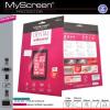 HTC One A9, Kijelzővédő fólia, MyScreen Protector, Clear Prémium, szennyeződés- és baktériummentes, 1 db / csomag