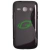 HTC Z520e One S fekete szilikon tok