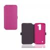 Huawei Honor 8, Oldalra nyíló tok, CoverGel, rózsaszín