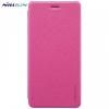 Huawei Nova Smart / Enjoy 6S, Oldalra nyíló tok, Nillkin Sparkle, magenta