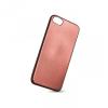 Huawei P10, TPU szilikon tok, Elegance Carbon, karbonminta, vörösarany