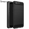 Huawei P10, TPU szilikon tok, iPaky, karbonminta, fekete