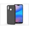 Huawei P20 Lite szilikon hátlap - Soft - fekete