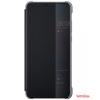 Huawei P20 s-view flip cover, Fekete