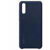 Huawei P20 szilikon hátlap (sötétkék)