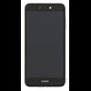 Huawei P8/P9 Lite (2017) kompatibilis LCD modul kerettel, OEM jellegű, fekete