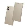 Huawei P9 Lite Mini / Y6 (2017) Pro, Oldalra nyíló tok, stand, Beeyo Grande, arany
