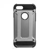 Huawei P9 Lite, Műanyag hátlap védőtok, Defender, fémhatású, sötétszürke