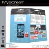 Huawei P9 Plus, Kijelzővédő fólia, ütésálló fólia (az íves részre NEM hajlik rá!), MyScreen Protector, Diamond Glass (Edzett gyémántüveg), Clear