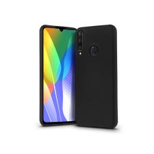 Huawei Y6p szilikon hátlap - Soft Premium - fekete tok és táska
