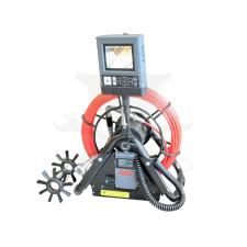 Hubitools Videoszkóp - inspekciós kamera 28 mm-es IP68 30 m-es csővizsgáló klt.(HU23102) hub és switch